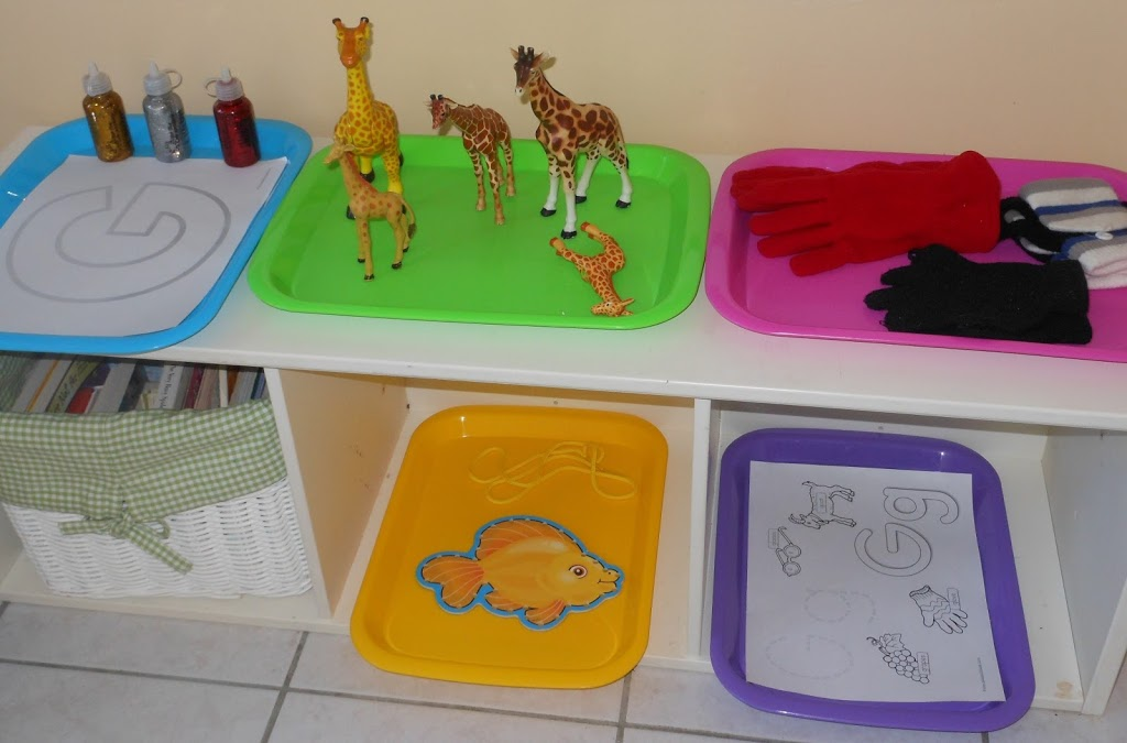 hands on learning preschool letter g activities