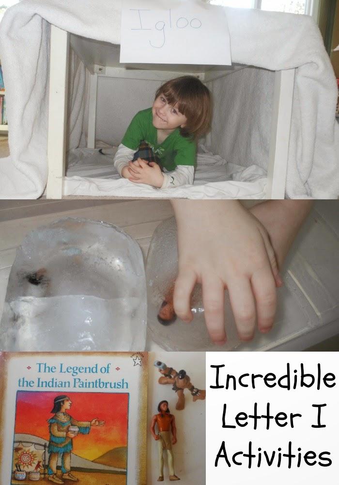 Tot Time Preschool Letter I Alphabet Activities