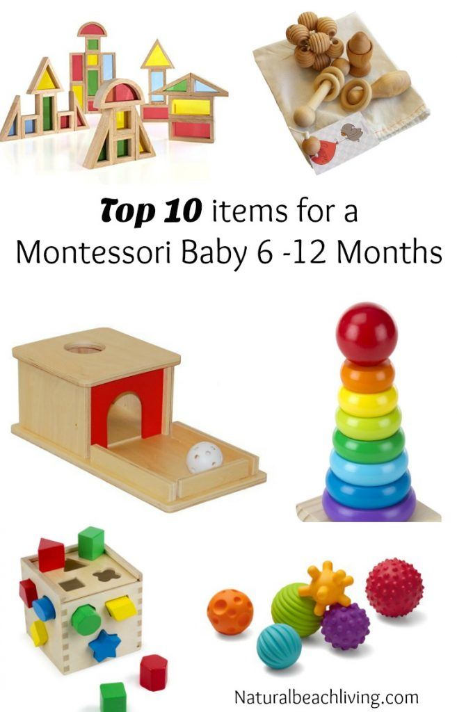 The Best Montessori Toys For Kids Birth To 6 Years Natural Beach