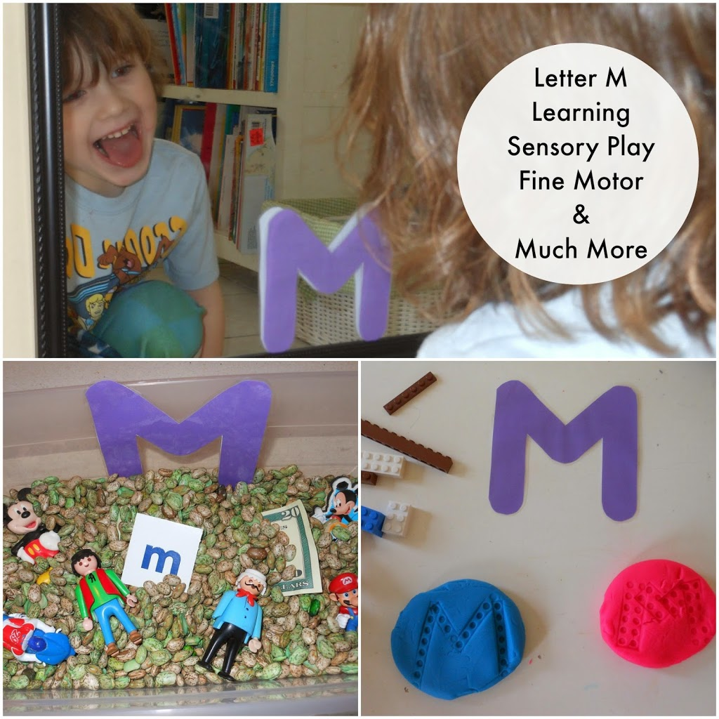 Tot time Preschool Letter M