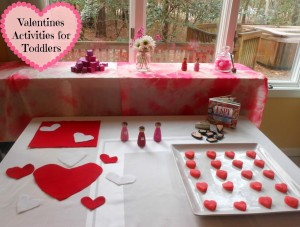 DIY Montessori Valentines Day Activities, Play dough, Felt play, Waldorf , Practical life, and more