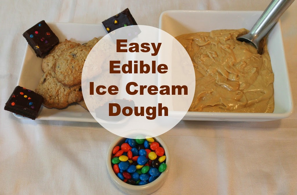 Sensory play, homemade, ice cream dough, Edible, hands on play www.naturalbeachliving.com