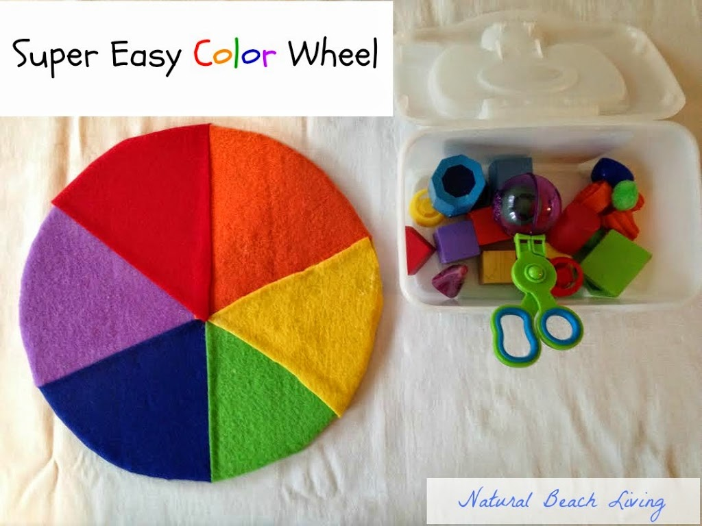 Easy And Fun Activities For Teaching Colors Natural Beach Living