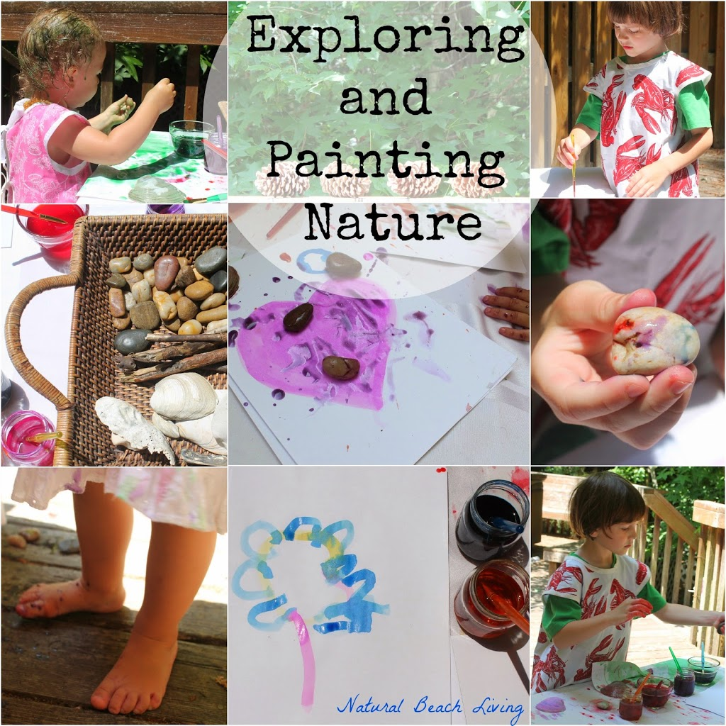 Exploring and Painting in Nature – Natural Learning