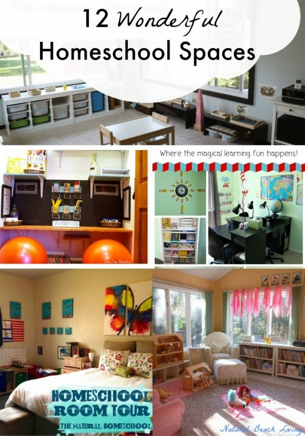 homeschool room spaces