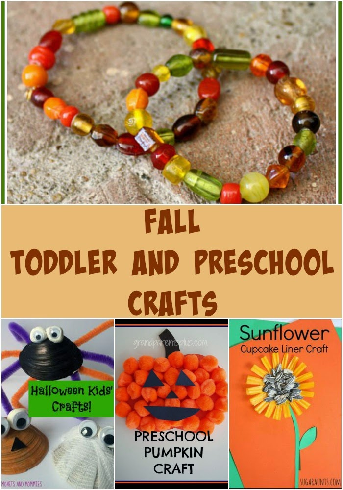 Toddler and Preschool Fall Crafts for Share it Saturday