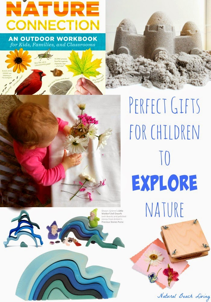 Gift guide for children that love nature, outdoors, natural learning, nature study, outside kids activities, animals,birds,books, www.naturalbeachliving.com