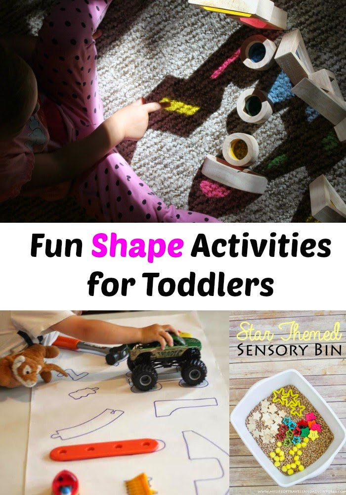 Teaching toddlers shapes, shape activities, printables, toddler and preschool activities, Montessori, hands on learning, www.naturalbeachliving.com