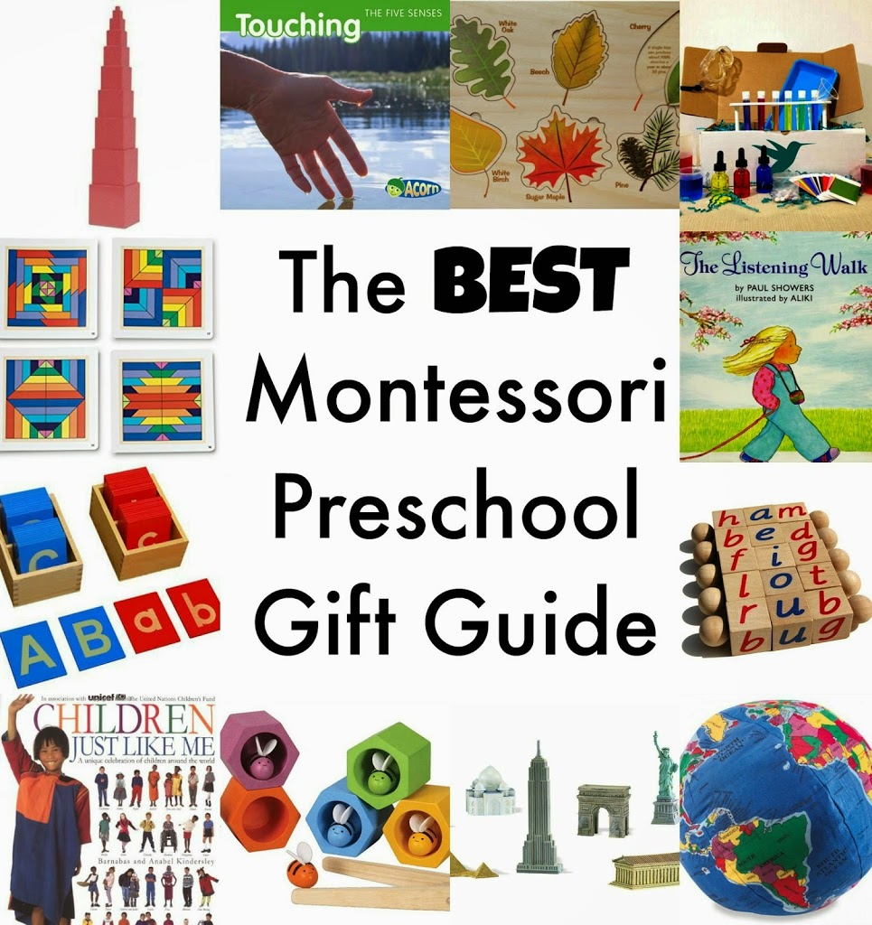 The Best Montessori Preschool Gift Guide - Natural Beach Living