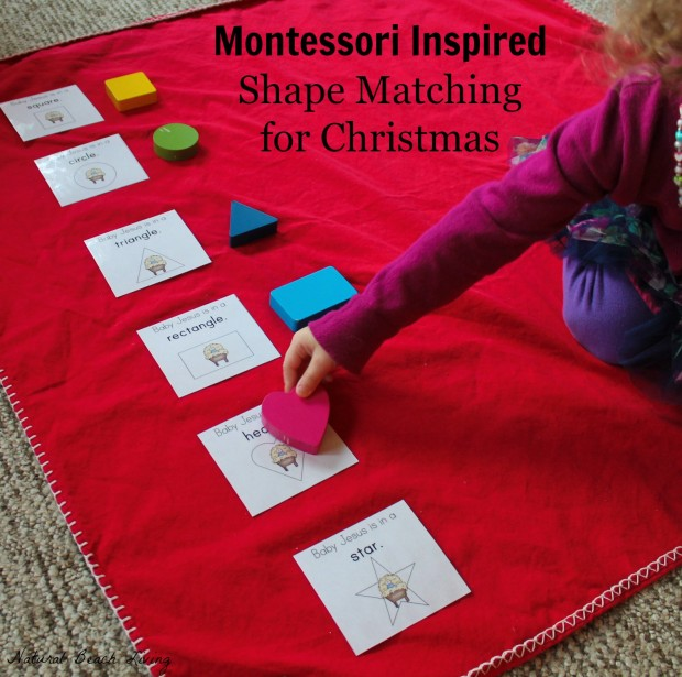 Christmas activities for toddlers and preschoolers, color matching, animal matching, fine motor skills, shapes, alphabet, math and more www.naturalbeachliving.com