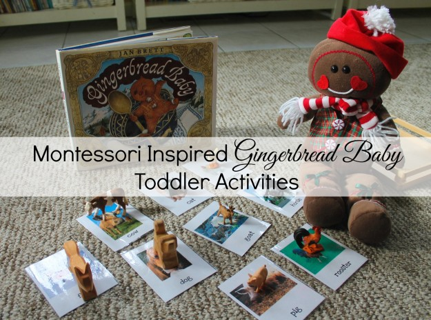 Montessori Inspired Gingerbread Baby Activities