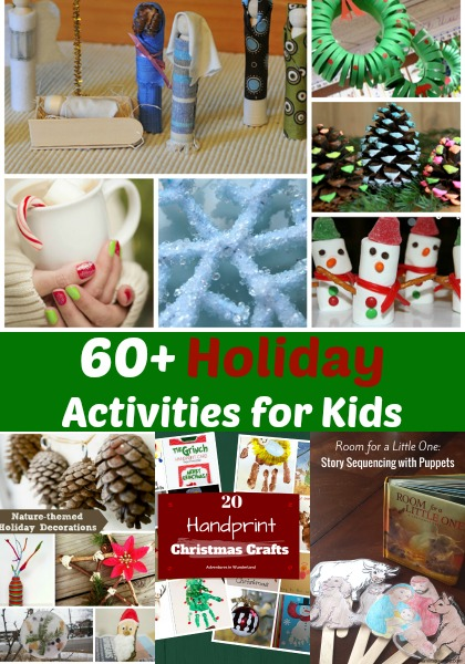 60+ holiday activities, crafts, books, sensory, and more