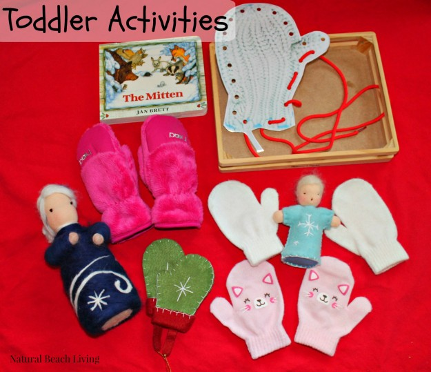 The Mitten Toddler activities, Montessori Activities, Winter Toddler Activities, Easy Toddler Activities, Book Activities for Toddlers, Jan Brett Books and activities, #toddleractivities