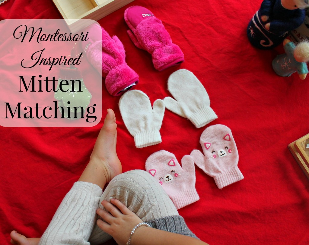 The Mitten by Jan Brett Toddler activities, Montessori Inspired for the Holiday and Winter www.naturalbeachliving.com