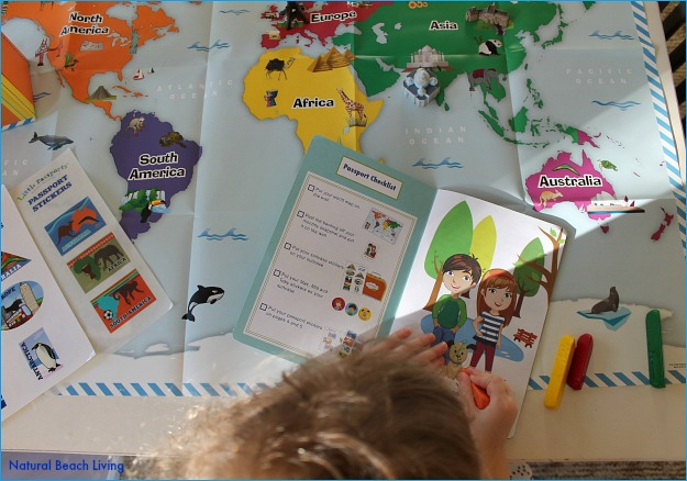 Geography for toddlers & preschoolers, Early Explorers, Traveling the world, activities, education,landmarks,hands on activities, www.naturalbeachliving.com