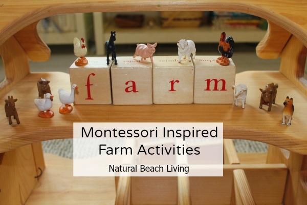 These Montessori Animal Activities and Free Printables are sure to engage and excite your Preschoolers. Free Farm Animal 3 part cards, Farm books for kids, and hands on activities perfect for a preschool farm theme.