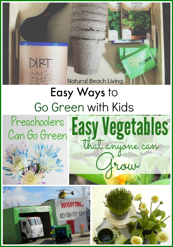 Easy Ways for Going Green with Kids