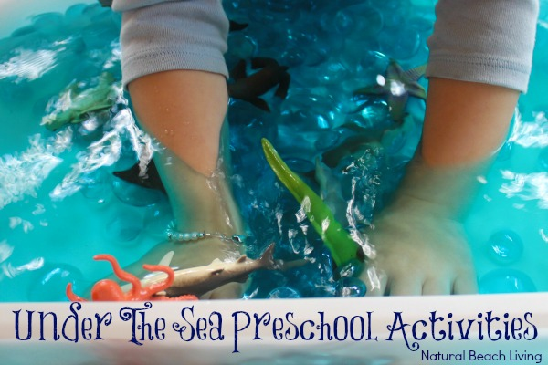Under the Sea Preschool Activities, Ocean Theme, Shark Week