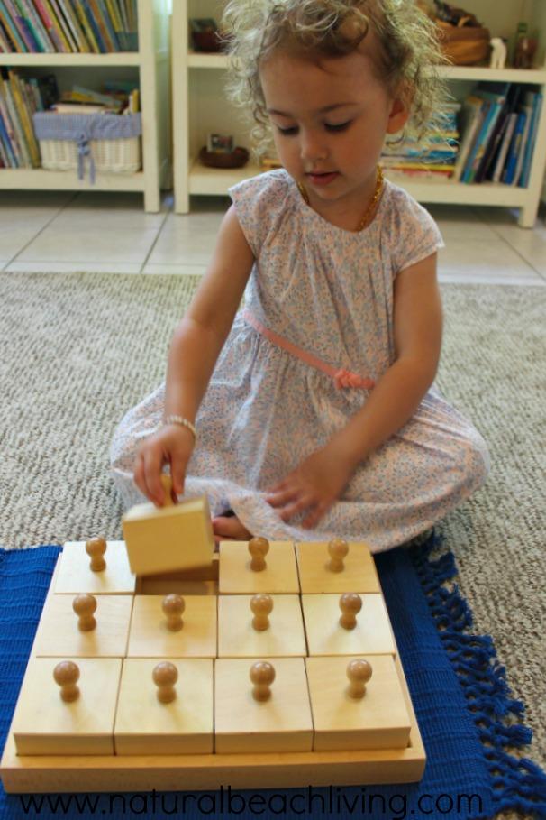 12 months of Montessori learning, Sensorial Montessori , sensory activities, Montessori sensory activities, Montessori education, Sound activities, Maria Montessori