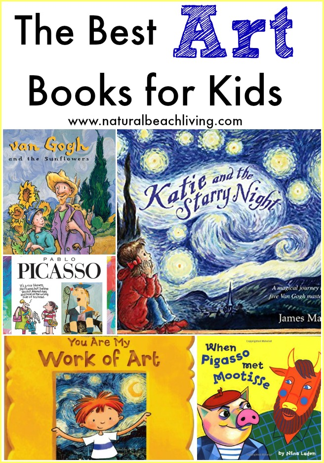 Best art books for kids