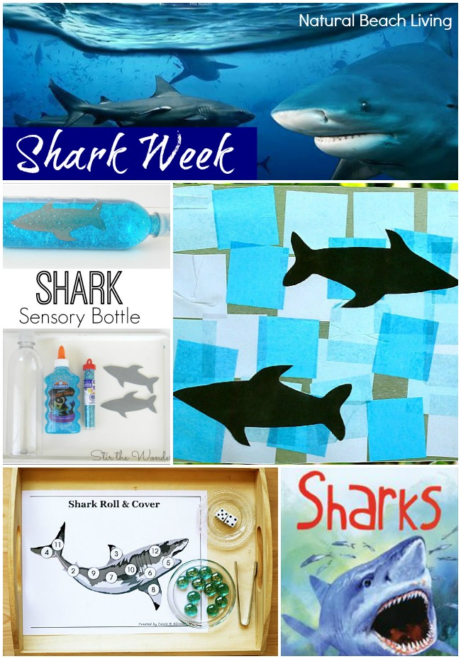 Shark Week for Kids – 30+ Shark Activities and Free Printables