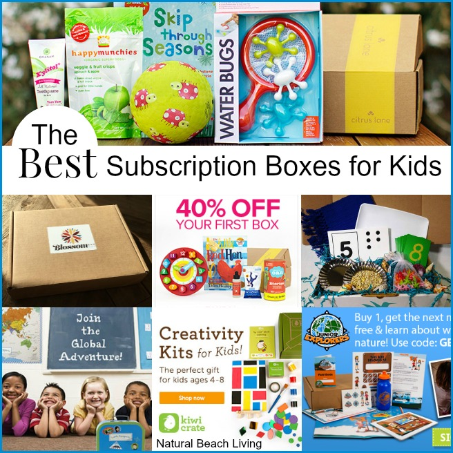 The Best Monthly Subscription Boxes For Kids