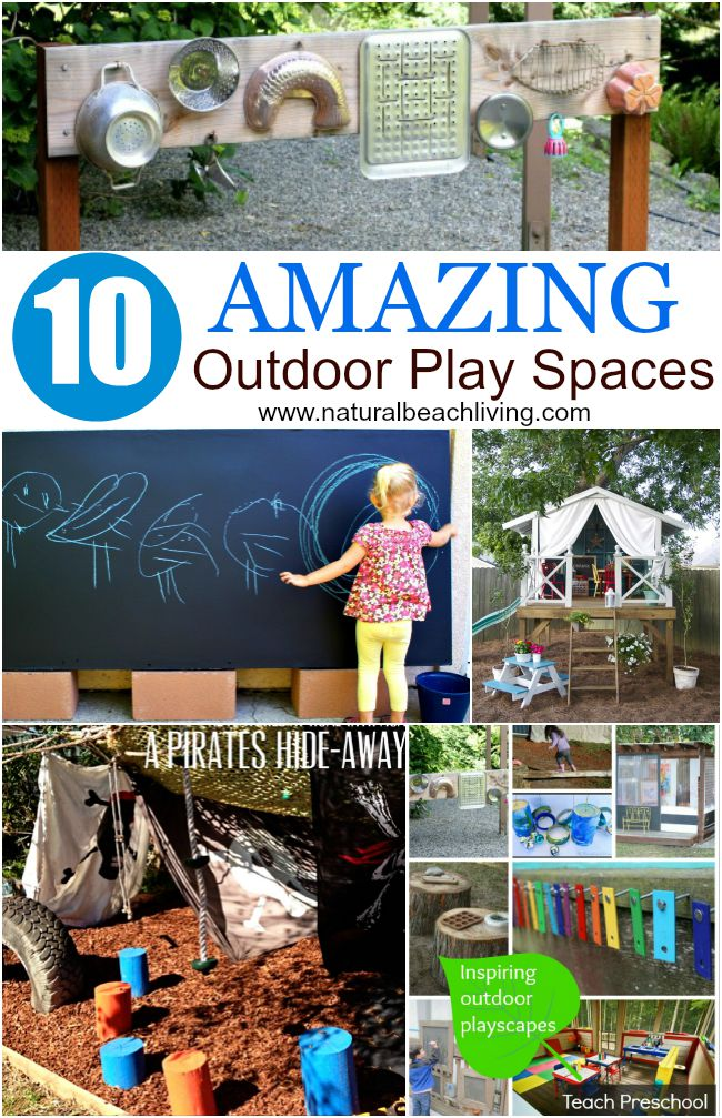 outdoor playspaces