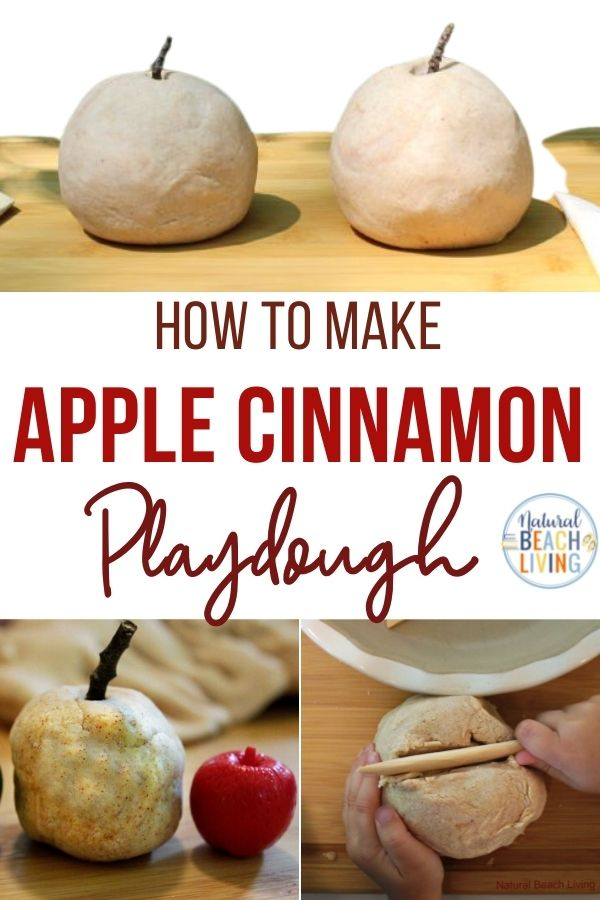 The Best Apple Pie Scented Play Dough – No Cook Playdough Recipe