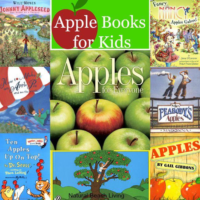 The Best Apple Books for Kids, paired with so many great apple activities perfect for fall. You and your kids will Love these great Apple Books!!!