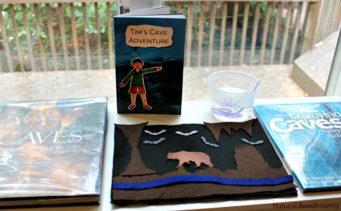AWESOME MONTESSORI INSPIRED, HANDS ON LEARNING, UNIT STUDY ON CAVES, CAVERNS, AND CRYSTALS, Natural Learning, Earth Science Ideas for Kids,plus Sensory Play