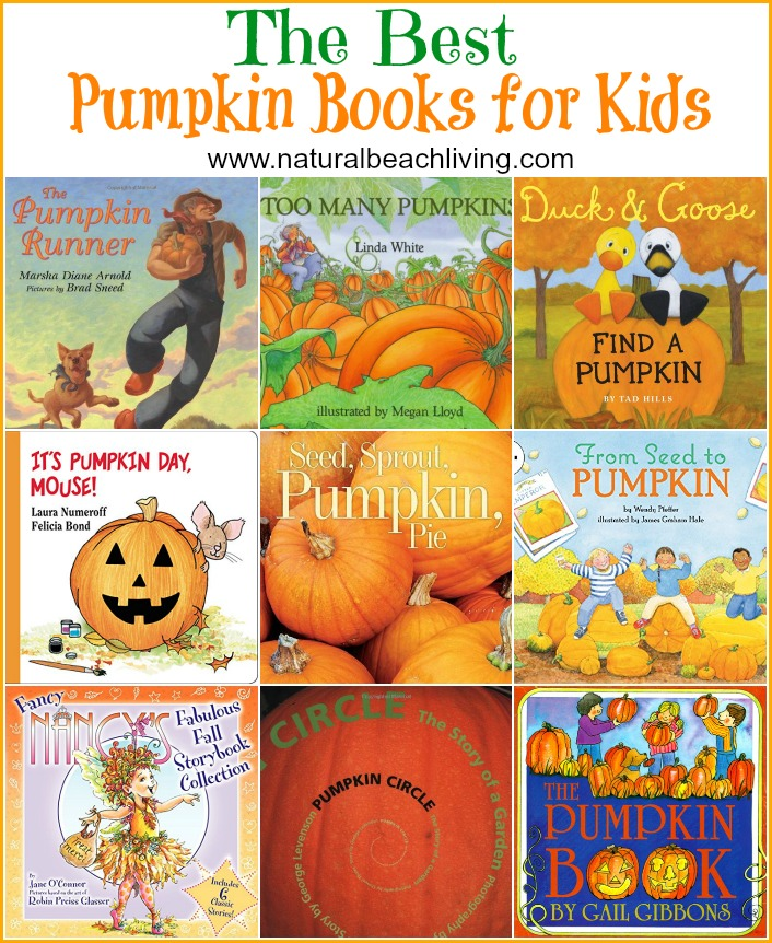 25+ THE BEST PUMPKIN BOOKS FOR KIDS, Perfect Pumpkin Books for Preschoolers and Books for fall and Halloween, Add a few of these great kids books to your Pumpkin Activities and Pumpkin Theme science