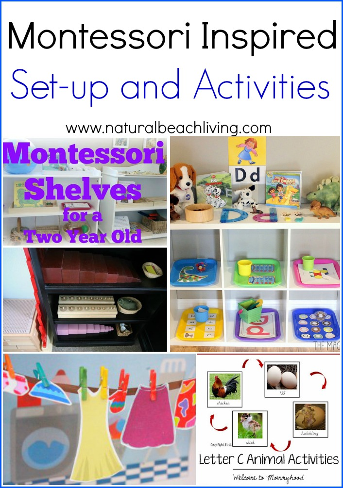Montessori Inspired Set-Up and Activities