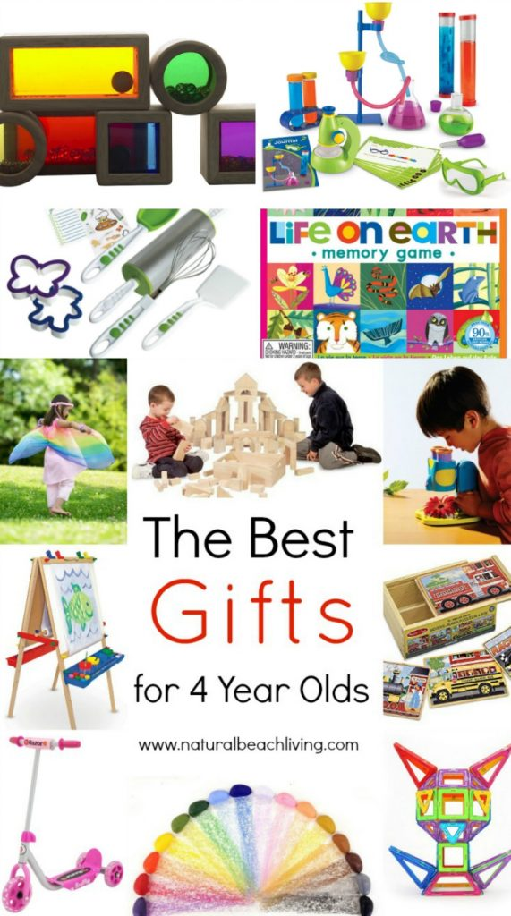 The Best Gifts for 4 Year Olds - Natural Beach Living