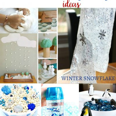 13+ Winter Sensory Play Ideas for Kids