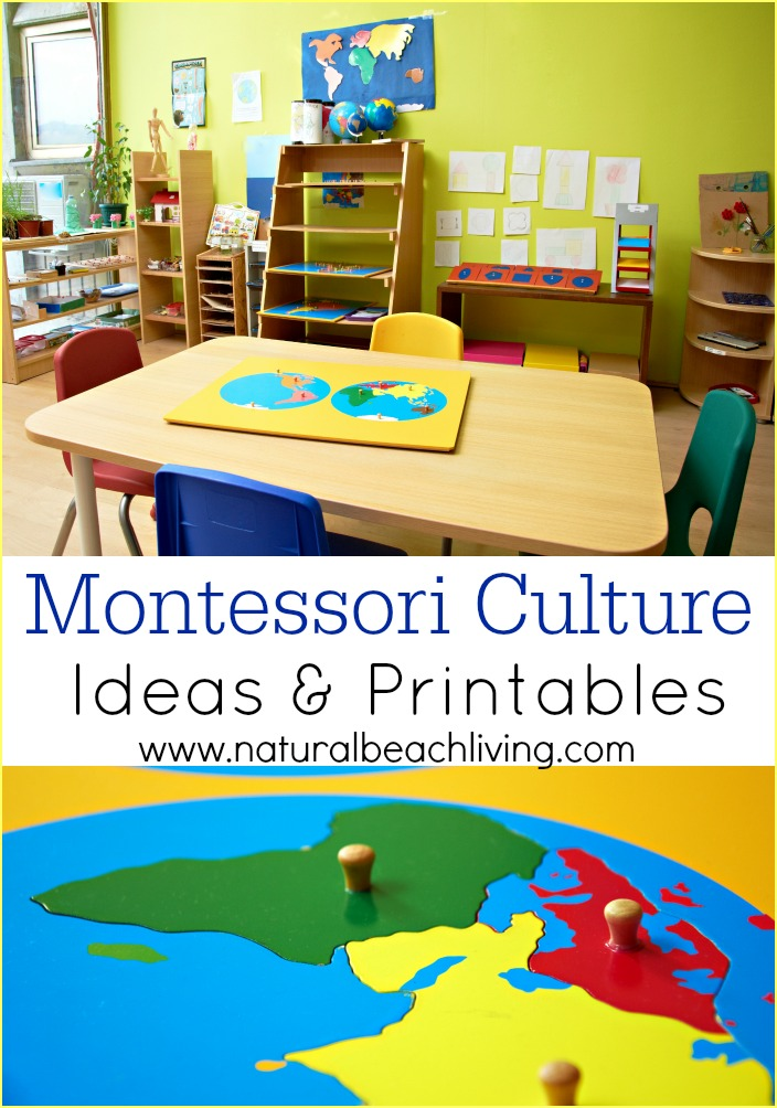 How to Teach Montessori Culture Ideas & Printables