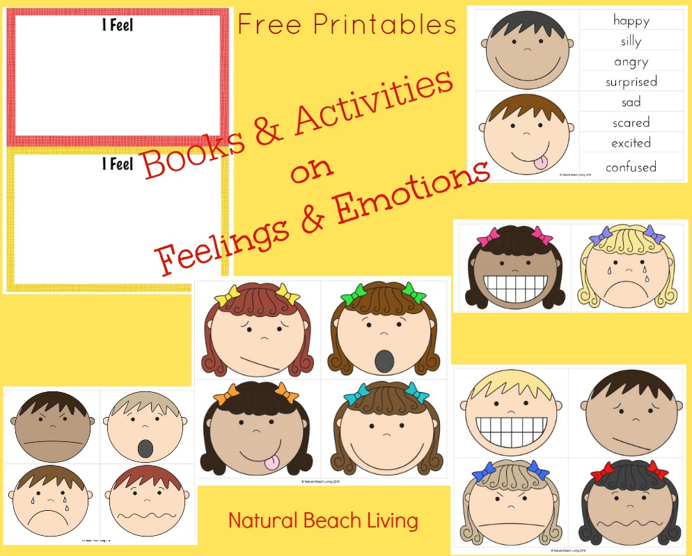 Visual Cards For Managing Feelings And Emotions Free Printables