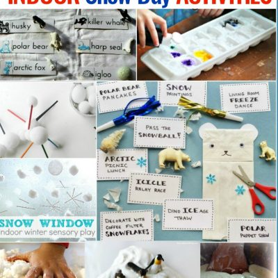30+ Indoor Snow Day Activities for Kids