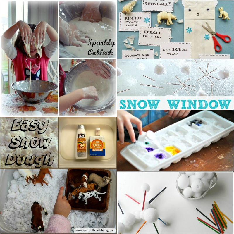 20+ Indoor Snow Day Activities for Kids , hands on learning activities, winter sensory play, STEM activities for kids, free printables, Indoor Games and Activities for Kids, Indoor Group Games for Kids,
