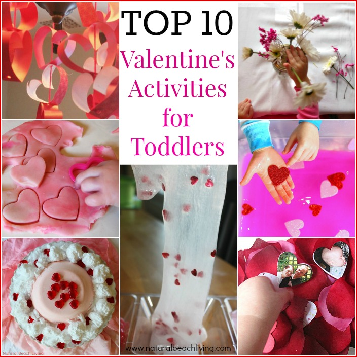 10 Valentines Activities for Toddlers