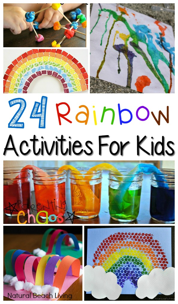 24+ Amazing Rainbow Activities for Kids