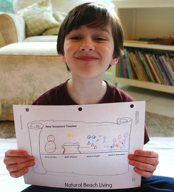 Children's Bible Study Curriculum, Hands on learning, drawing, Homeschool bible curriculum for age 3 +, Great Review on Grapevine Studies New Testament