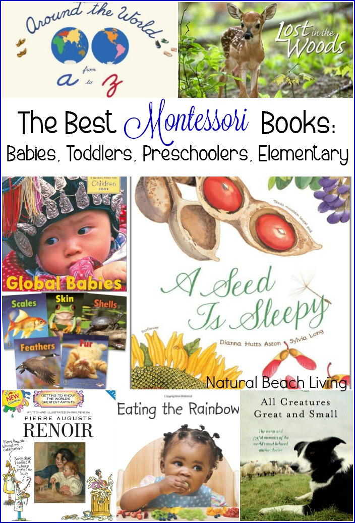 The Best Montessori Books  Babies, Toddlers, Preschoolers, Elementary