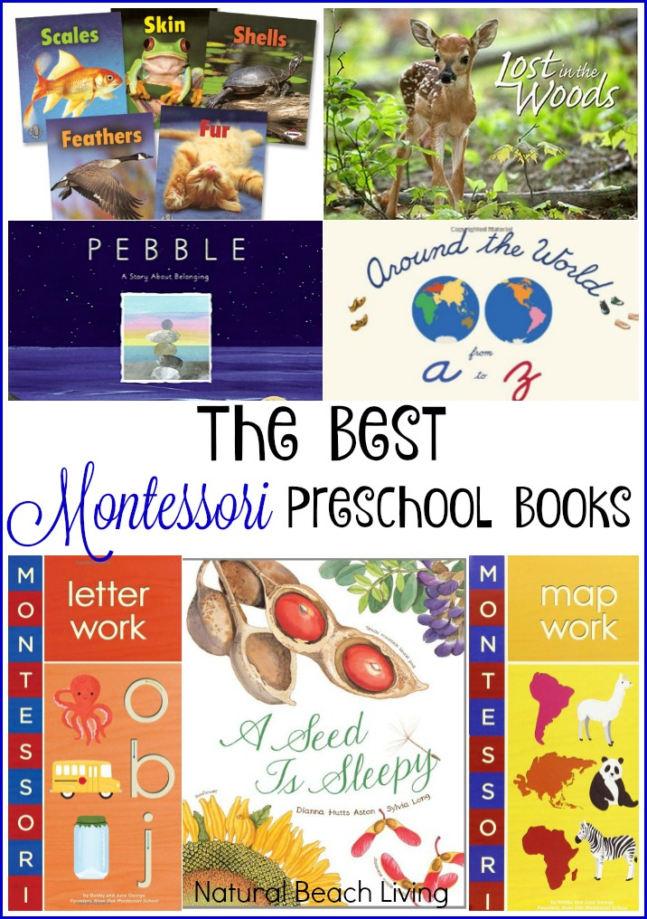 The Best Montessori Books Babies Toddlers Preschoolers Elementary