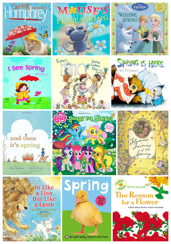 25 Amazing Spring Books for Kids, Themes, Unit Studies, Bunnies, Seeds, Toddler and Preschool books that your children will Love. Non-Fiction and Fiction