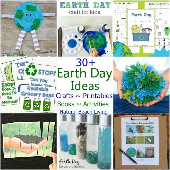 30 Creative Earth Day Crafts And Activities For Kids Natural