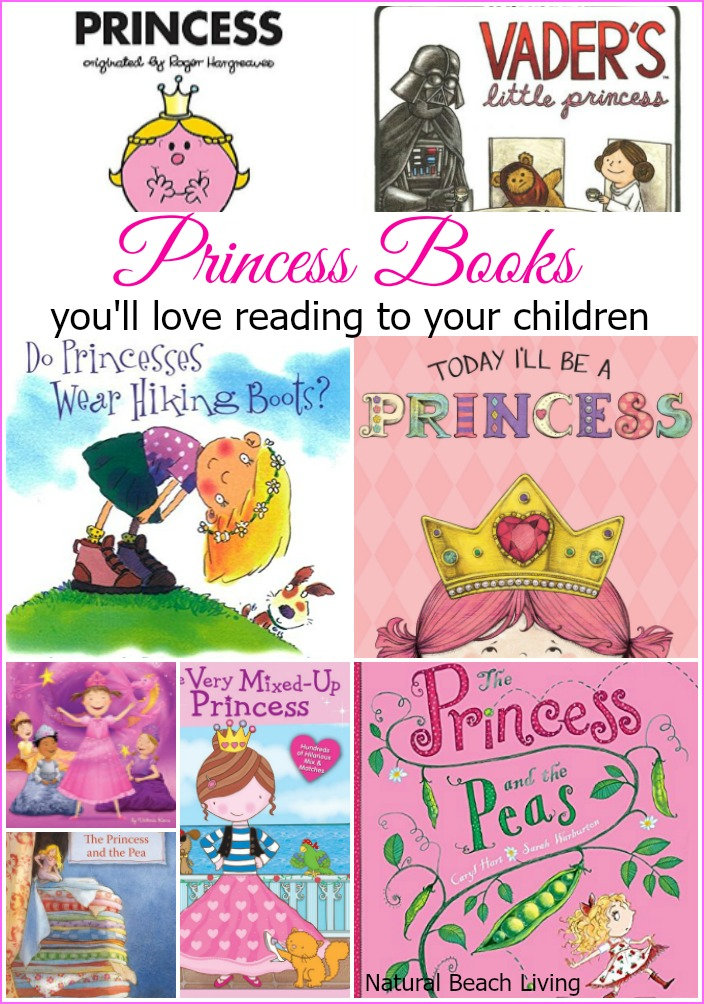 Natural Beach Living Princess Books that you and your children will Love Reading! Inspiring fun stories that teach self acceptance and a love for yourself.