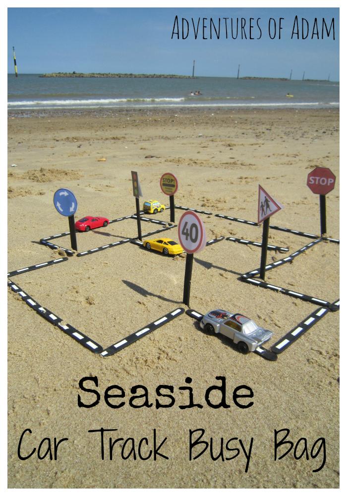 seaside cars busy bag