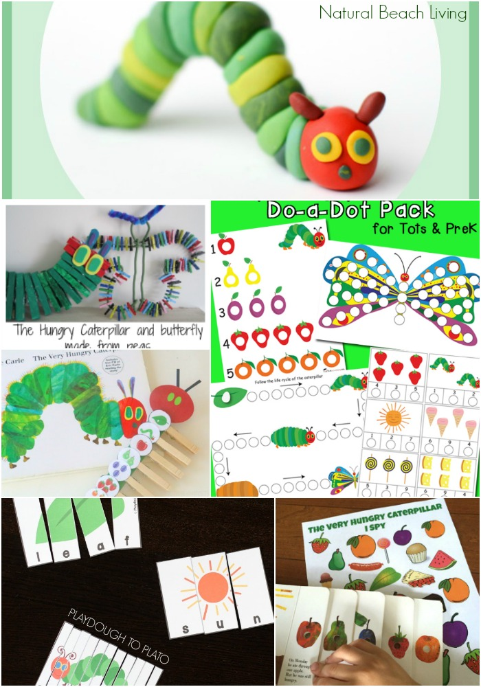 The Very Hungry Caterpillar Storytelling Activities Crafts