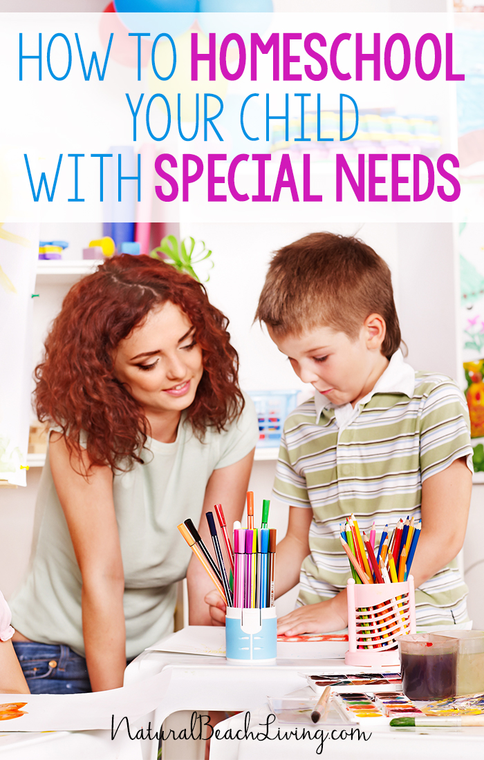 How to Homeschool your Child with Special Needs