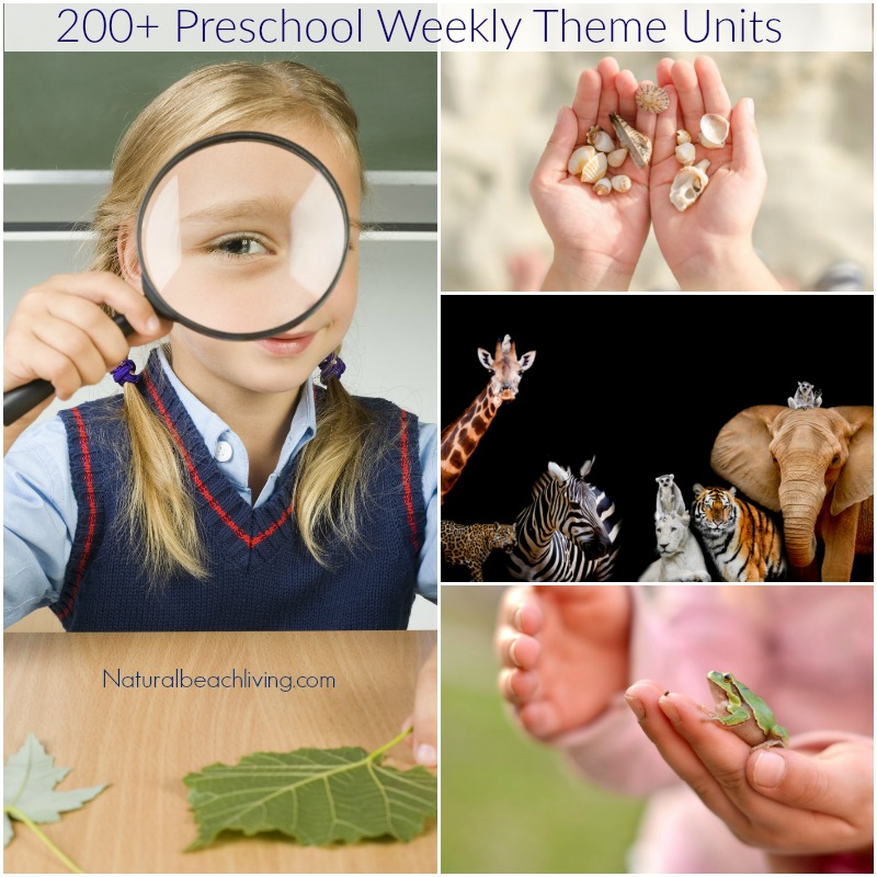 200+ of the Best Preschool Themes and Lesson Plans, Themes for Preschool and Kindergarten, Tons of Pre-K activities and printables, Perfect for weekly or monthly themed learning or unit studies, Pre K themes, Free Preschool Printables, Preschool activities, #preschool #preschoolactivities #preschoolcrafts